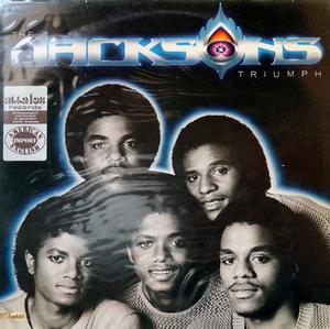 Album  Cover The Jacksons - Triumph on EPIC Records from 1980