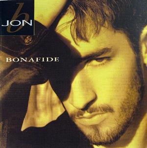 Album  Cover Jon B - Bonafide on SONY Records from 1995