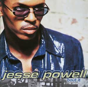 Album  Cover Jesse Powell - 'bout It on MCA Records from 1998