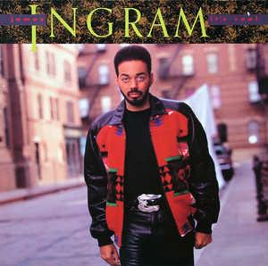 Album  Cover James Ingram - It's Real on QWEST Records from 1989