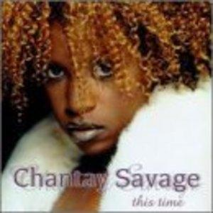 Front Cover Album Chantay Savage - This Time