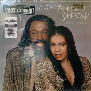 Album  Cover Ashford & Simpson - Street Opera on CAPITOL Records from 1982