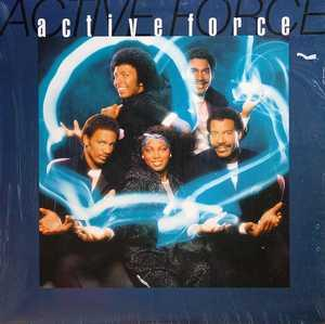 Album  Cover Active Force - Active Force on A&M Records from 1983