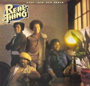 Album  Cover The Real Thing - Step Into Our World on PYE Records from 1978