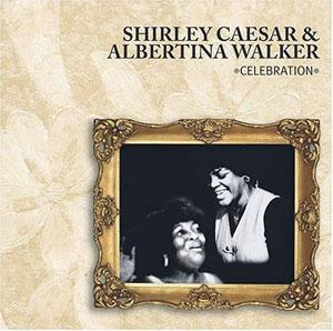 Album  Cover Shirley Caesar - Celebration on MYRRH Records from 1990