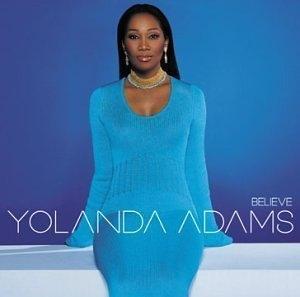 Album  Cover Yolanda Adams - Believe on ELEKTRA Records from 2001