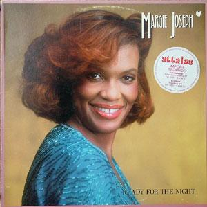 Front Cover Album Margie Joseph - Ready For The Night