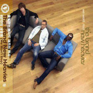 Album  Cover The Brand New Heavies - We Won't Stop on PONY CANYON Records from 2003