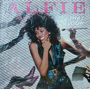 Album  Cover Alfie Silas - That Look on MOTOWN Records from 1985