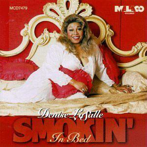 Album  Cover Denise Lasalle - Smokin' In Bed on MALACO Records from 1997