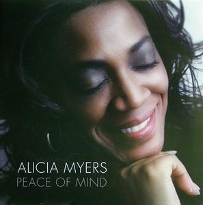 Front Cover Album Alicia Myers - Peace Of Mind