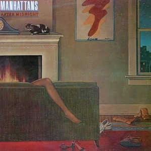 Album  Cover The Manhattans - After Midnight on COLUMBIA Records from 1980