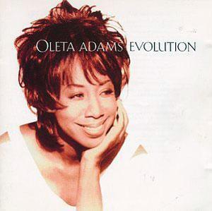 Album  Cover Oleta Adams - Evolution on FONTANA Records from 1993