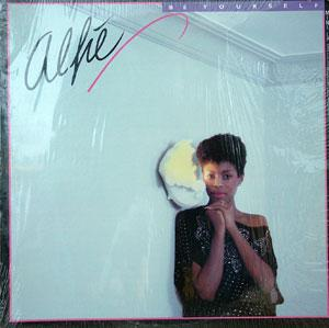 Album  Cover Alfie Silas - Be Yourself on RCA Records from 1983