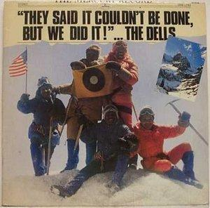 Album  Cover The Dells - They Said It Couldn't Be Done, But We Did It on MERCURY Records from 1977