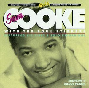 Album  Cover Soul Stirrers - Sam Cooke With The Soul Stirrers on SPECIALTY Records from 1991