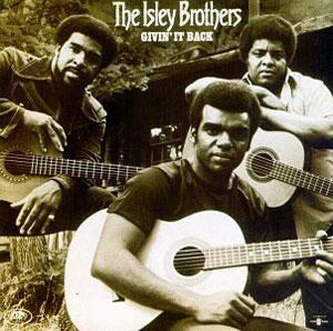 Front Cover Album The Isley Brothers - Givin' It Back