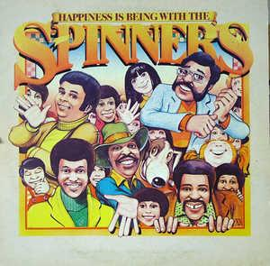 Front Cover Album The Spinners - Happiness Is Being With The Spinners