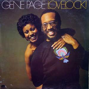 Album  Cover Gene Page - Lovelock on ATLANTIC Records from 1976