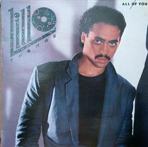 Album  Cover Lillo Thomas - All Of You on CAPITOL Records from 1984
