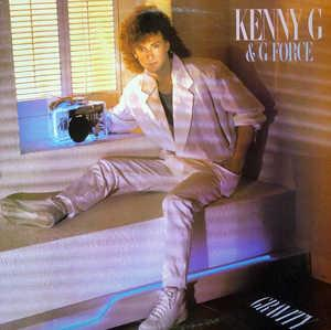 Album  Cover Kenny G - Gravity on ARISTA Records from 1985