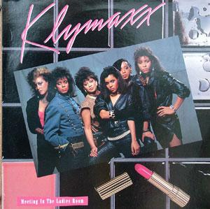 Front Cover Album Klymaxx - Meeting In The Ladies Room