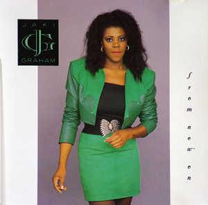 Album  Cover Jaki Graham - From Now On on EMI Records from 1989