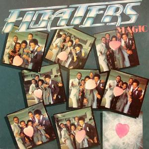 Album  Cover The Floaters - Magic on ABC Records from 1978