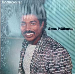 Front Cover Album Beau Williams - Bodacious!