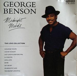 Album  Cover George Benson - Midnight Moods on ARCADE Records from 1991