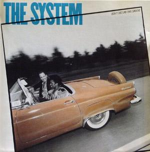 Front Cover Album The System - Don't Disturb This Groove