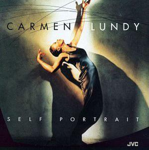Album  Cover Carmen Lundy - Self Portrait on JVC Records from 1994