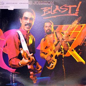 Album  Cover The Brothers Johnson - Blast on A&M Records from 1982