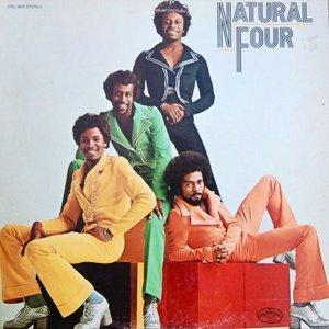 Album  Cover The Natural Four - Natural Four on CURTOM Records from 1974