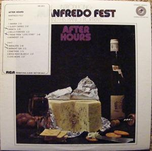 Front Cover Album Manfredo Fest - After Hours