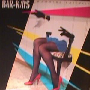 Album  Cover The Bar Kays - Banging The Wall on MERCURY Records from 1985