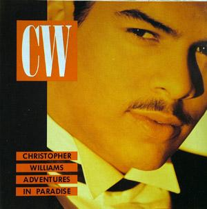 Front Cover Album Christopher Williams - Adventures In Paradise