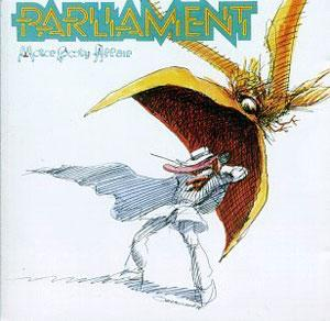 Front Cover Album Parliament - Motor Booty Affair