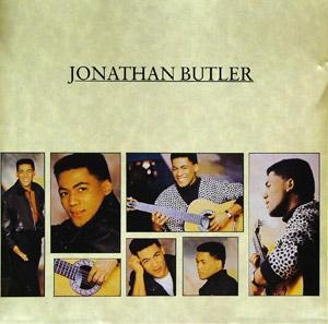 Album  Cover Jonathan Butler - Jonathan Butler on JIVE Records from 1987