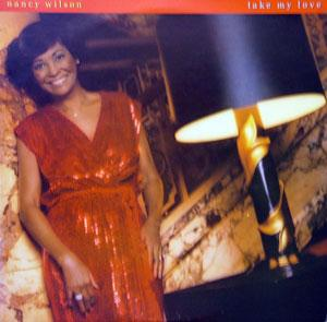 Album  Cover Nancy Wilson - Take My Love on CAPITOL Records from 1980