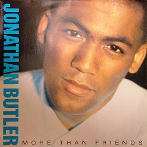 Album  Cover Jonathan Butler - More Than Friends on JIVE Records from 1988