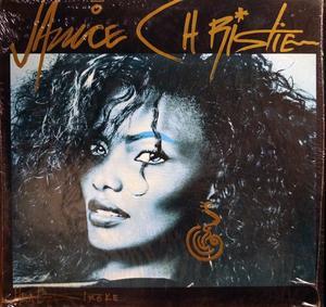 Album  Cover Janice Christie - Heatstroke on SUPERTRONICS Records from 1987