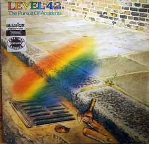 Front Cover Album Level 42 - The Pursuit Of Accidents