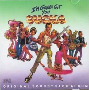 Front Cover Album Various Artists - I'm Gonna Git You Sucka - OST