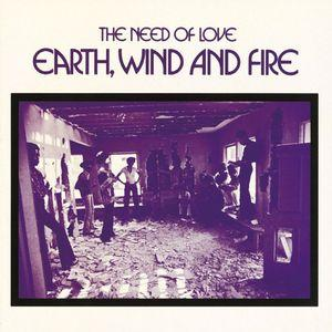 Album  Cover Earth Wind & Fire - The Need Of Love on WARNER BROS. Records from 1971