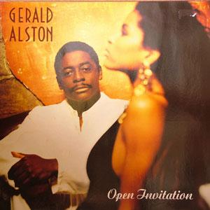Album  Cover Gerald Alston - Open Invitation on MOTOWN Records from 1990
