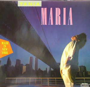 Album  Cover Tania Maria - Made In New York on MANHATTAN Records from 1985