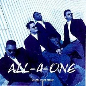 Front Cover Album All 4 One - And The Music Speaks