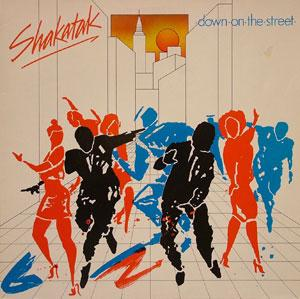 Front Cover Album Shakatak - Down On The Street