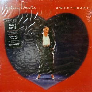 Album  Cover Rainy Davis - Sweetheart on COLUMBIA Records from 1987